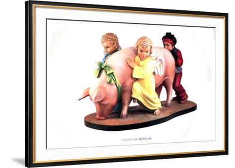 Ushering in Banality-Jeff Koons-Framed Art Print