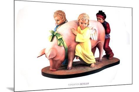 Ushering in Banality-Jeff Koons-Mounted Art Print