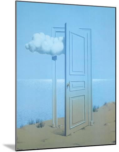 La Victoire, 1938-Rene Magritte-Mounted Art Print