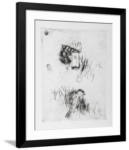 Untitled - Window with Flower-Donald Saff-Framed Art Print