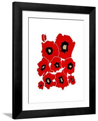 Anemones II-Phyllis Sussman-Framed Art Print