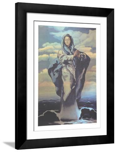 Water Goddess-Robert Lambaise-Framed Art Print