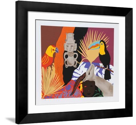 Managua #1-Hunt Slonem-Framed Art Print
