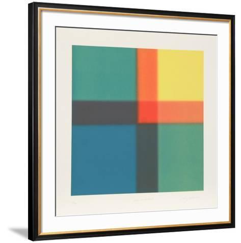 Bleu Unchartered-Barry Nelson-Framed Art Print