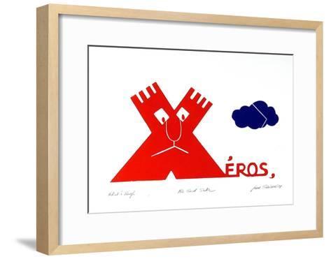 For God Sake-Jean Sariano-Framed Art Print