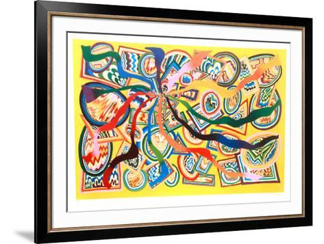 Chroma Contada #2-Stephen T. Vassiliades-Framed Art Print