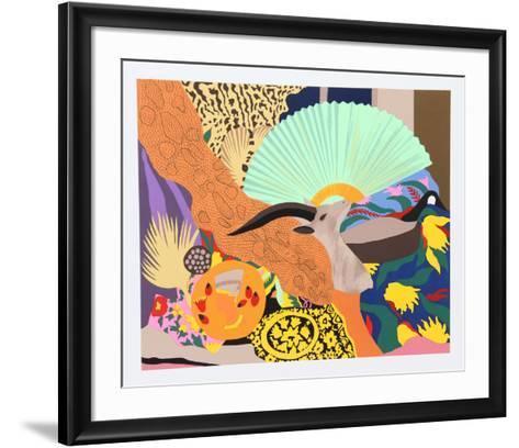 Ebu-Hunt Slonem-Framed Art Print