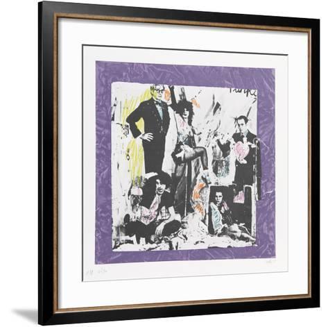Justine and the Victorian Punks- Colette-Framed Art Print