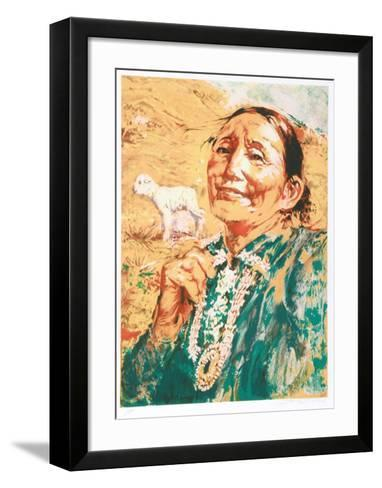 Proud Lady-Shannon Stirnweis-Framed Art Print