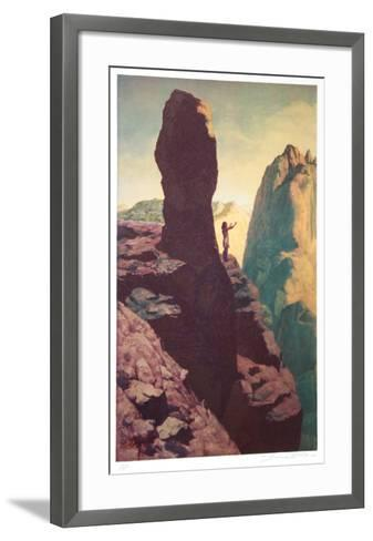 Oh Great Spirit Send Me a Vision-Shannon Stirnweis-Framed Art Print