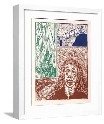 Gaspara Stampa-Italo Scanga-Framed Art Print