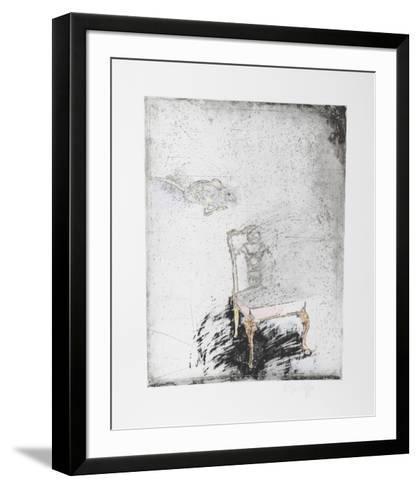 Untitled - Mouse, Chair Color-Donald Saff-Framed Art Print