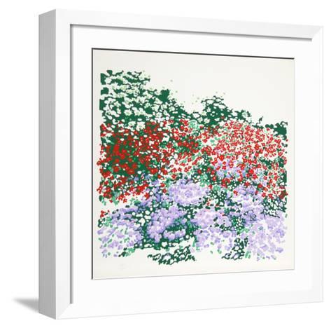 Untitled - Flower Field-Nadine Prado-Framed Art Print