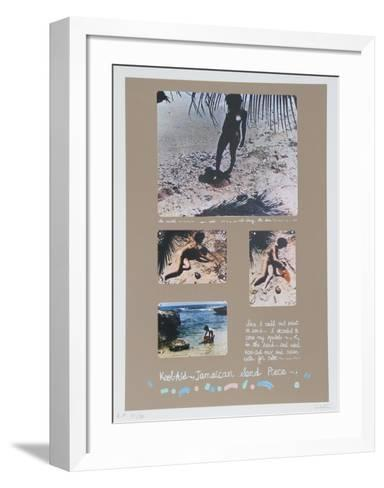 Kool Aid Jamaican Sand Piece- Colette-Framed Art Print