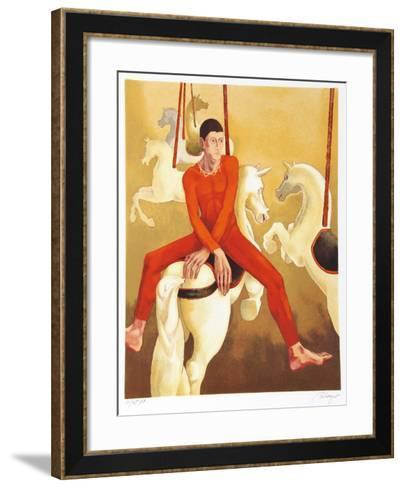 Carousel-Daniel Riberzani-Framed Art Print