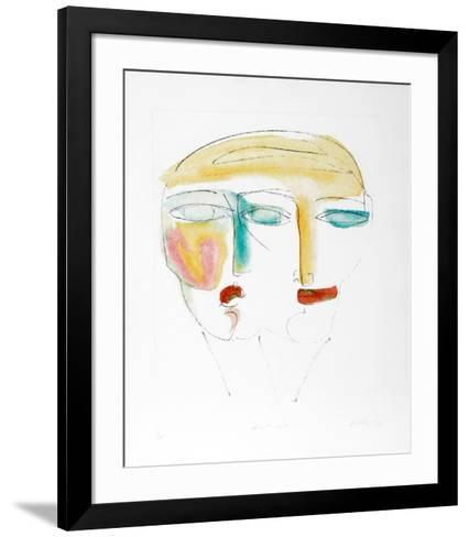 Intimate I-Vick Vibha-Framed Art Print
