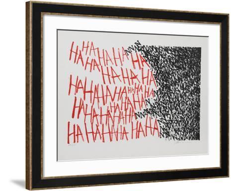 Hahaha-Marshall Borris-Framed Art Print