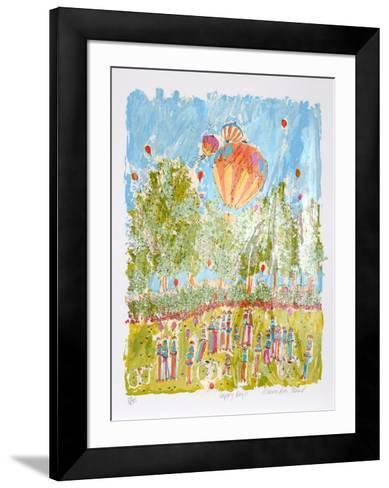 Happy Days-Susan Pear Meisel-Framed Art Print