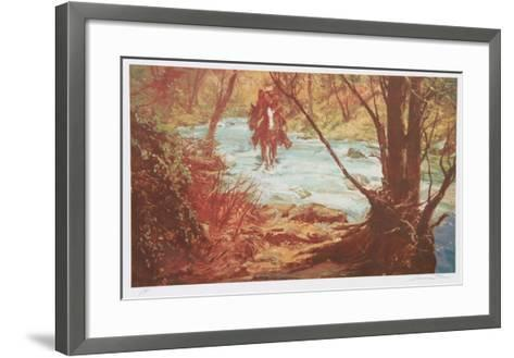 Coming Home With His Bride-Shannon Stirnweis-Framed Art Print