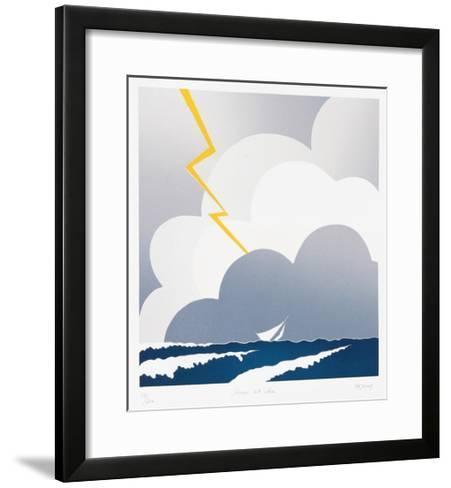 Storm at Sea-Dejong-Framed Art Print