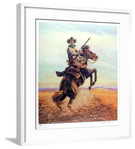 Don't Crowd Me-Rockwell Smith-Framed Art Print
