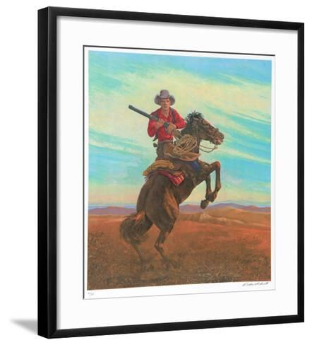 Don't Crowd Me II-Rockwell Smith-Framed Art Print