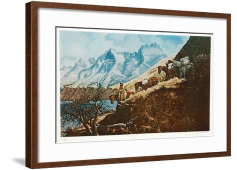 The Mountain Man of Salmon River-Cecil Smith-Framed Art Print