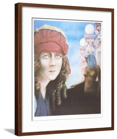 Easier to Change the Past-Robert Anderson-Framed Art Print