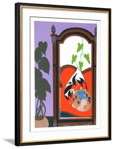 Armoir-Hunt Slonem-Framed Art Print