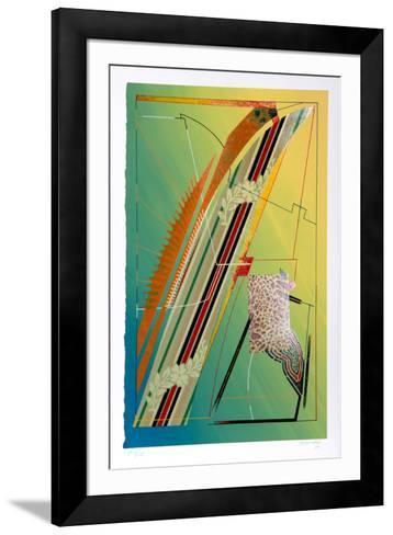 Hawaiian Flowers-William Schwedler-Framed Art Print