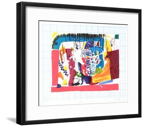 The Magician-Vick Vibha-Framed Art Print