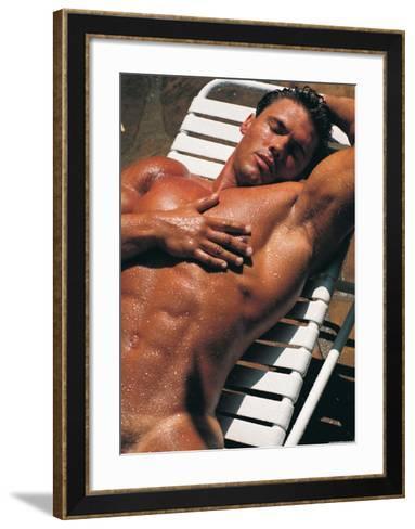 Sexy Sunbathing-Tom Murray-Framed Art Print