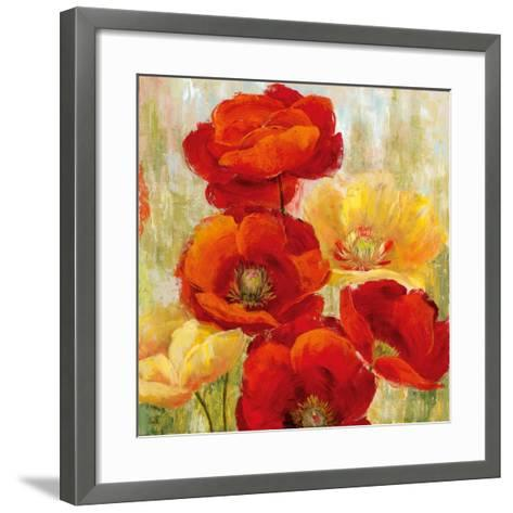 Flourishing Meadow II-Nan-Framed Art Print