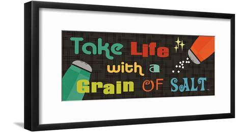 Kitchen It! V-Jess Aiken-Framed Art Print