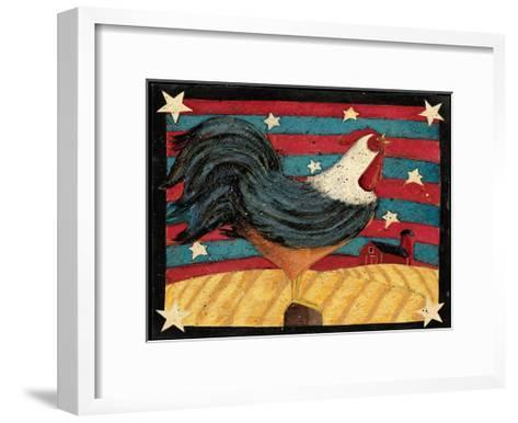 Flag-Dan Dipaolo-Framed Art Print