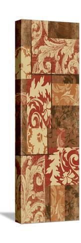 Pattern-Jace Grey-Stretched Canvas Print