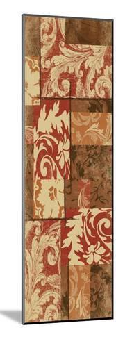 Pattern-Jace Grey-Mounted Art Print