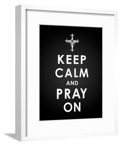 Keep Calm-Jace Grey-Framed Art Print