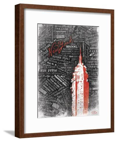Empire-OnRei-Framed Art Print