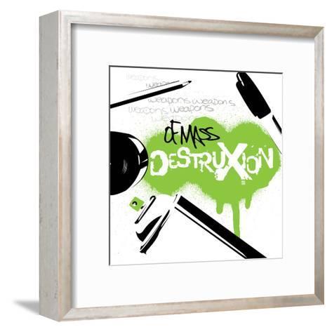 WMD-Enrique Rodriguez, Jr^-Framed Art Print
