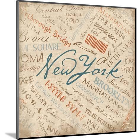 New York-OnRei-Mounted Art Print