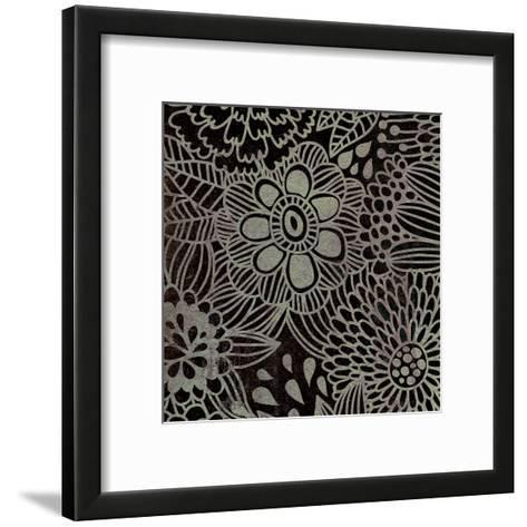 Stencil Floral-Kristin Emery-Framed Art Print
