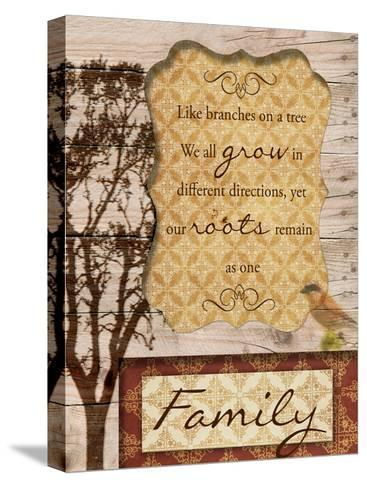 Family Tree-Taylor Greene-Stretched Canvas Print