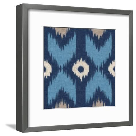 Ikat III-Taylor Greene-Framed Art Print