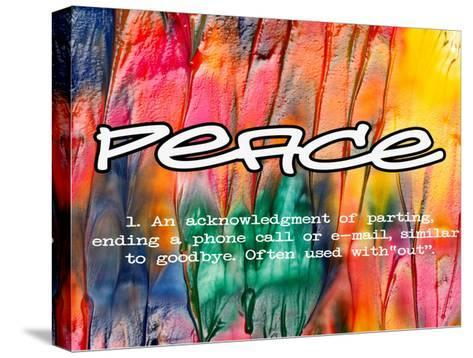 Peace-Taylor Greene-Stretched Canvas Print