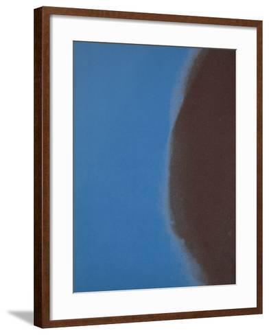 Shadows II, 1979 (blue)-Andy Warhol-Framed Art Print