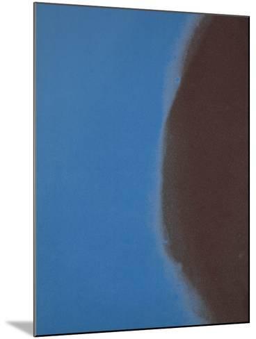 Shadows II, 1979 (blue)-Andy Warhol-Mounted Art Print