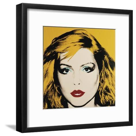 Debbie Harry, 1980-Andy Warhol-Framed Art Print