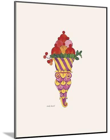 Ice Cream Dessert, c. 1959 (purple fancy)-Andy Warhol-Mounted Art Print