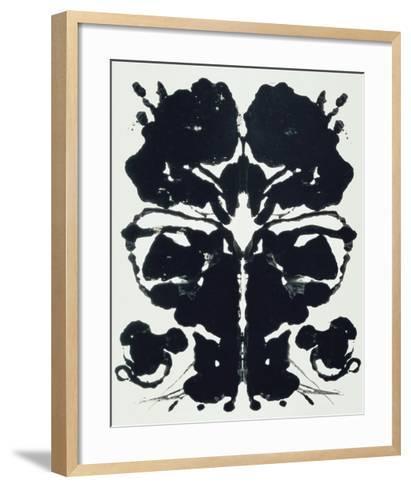 Rorschach-Andy Warhol-Framed Art Print